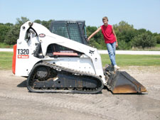 T320 Bobcat with Spencer